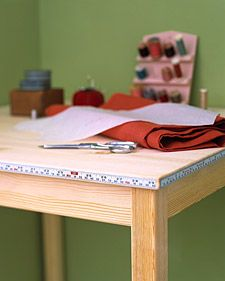 Measuring Table - DIY: Oh Martha !