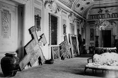 monuments men art saved | The castle of Montegufoni outside Florence was used as a haven where ...
