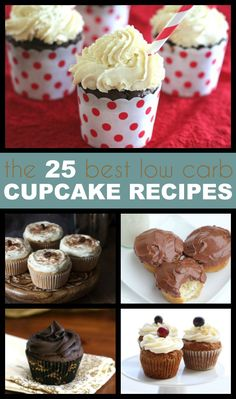 The best low carb keto cupcake recipes around. Chocolate, lemon, caramel, gingerbread...you name it, we've got it! LCHF THM Banting recipes via @dreamaboutfood