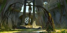 ArtStation - Cody Foreman's submission on Ancient Civilizations: Lost & Found - Environment Design