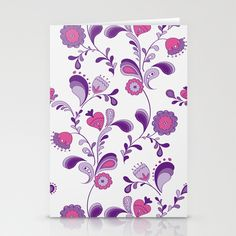 Seventies Floral Pattern Designed by Martina Stadler Retro Pattern, Pattern Design, Vektor Muster, Decorating Your Home, Retro Vintage, Stationery, Iphone Cases, Presents, Girly