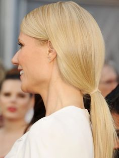 """Undone"" ponytail"