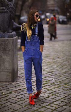 Jardinera de jeans