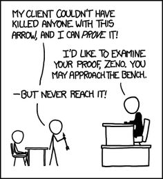 Zeno, Attorney at Law #xkcd #comics