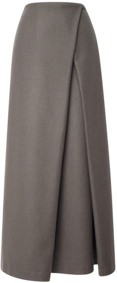Shop for Wrap Pleat Maxi Skirt by Suno at ShopStyle. Now for Sold Out. Shop for Wrap Pleat Maxi Skirt by Suno at ShopStyle. Now for Sold Out. Modest Fashion, Hijab Fashion, Trendy Fashion, Fashion Outfits, Womens Fashion, Fashion Clothes, Style Fashion, Winter Fashion, Modest Clothing