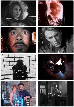 Parallels between Tony and Steve:  OMG I never realized this..wow.....last panel breaks my heart.....