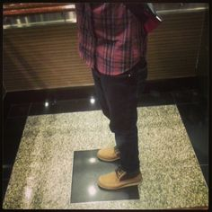 men boot, levi jean, canva boot, nubuck wedg