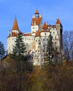 "Bran Castle, Transylvania, Romania, home of Vlad the Impaler, who inspired Bram Stoker to write the story of ""Dracula."""