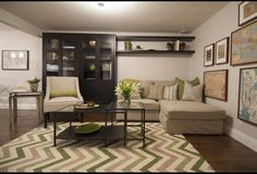 Tv stand decor funky art and income property on pinterest for The living room season 5 episode 10