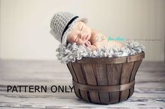 Hey, I found this really awesome Etsy listing at https://www.etsy.com/listing/151514354/fedora-crochet-pattern-baby-hat-pattern