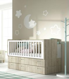 Cuna convertible LITE ideal para habitaciones infantiles de espacios reducidos o…
