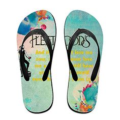 Shehe Fleetweed Mak Rock Blues Unisex High Quality Beach Flipflops Flops Size L Black * Find out more about the great product at the image link.(This is an Amazon affiliate link and I receive a commission for the sales)