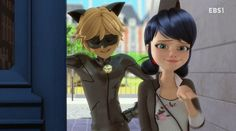 Loved that part!! Probably my favorite episode cause chat/Adrien met Marrinette and I loved it!!!