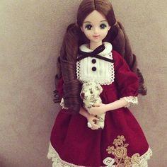 another b-day gift from @saintbloom2012, club 67 order made #jenny #doll #dolls #jennydoll #takara