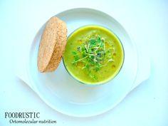 Green pea nutritious soup!