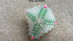 Beaded Warped Square Peyote Stitch - How To