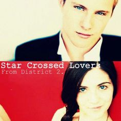 The REAL starcrossed lovers. Haymitch made Peeta and Katniss pretend. Cato and Clove actually loved each other:) <3