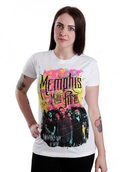 Memphis May Fire - Splash White - Girly