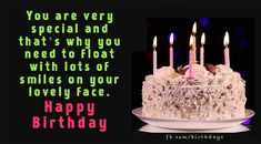 Birthday Greeting Happy Birthday Cake Images, Happy Birthday Video, Birthday Wishes And Images, Birthday Wishes Messages, Happy Birthday Greeting Card, Birthday Candles, Moon, Qoutes, Quotations