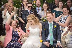 Wedding confetti on the lawn at the Kings Arms Hotel in Christchurch Civil Wedding, Wedding Dj, Wedding Ceremony, Wedding Venues, Pavilion Wedding, Bridal Suite, Wedding Confetti, Father Of The Bride, Newlyweds