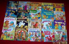 Berenstain Bears 20 First Time Vintage Books Picture Book Series Bully Santa