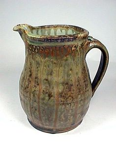 Ceramic Pitcher by Tom Homann. American Made. 2013 Buyers Market of American Craft