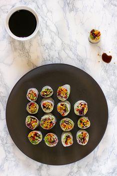 giroVegando in cucina: Involtini di carta di riso con verdure croccanti