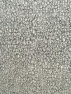 Luca Barcelona - asemic writing