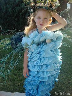 home made ocean princess costume