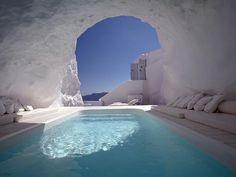 Katikies Hotels in Santorini, Greece