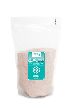Sól Himalajska drobno mielona różowa Bio, 1 kg - Skarby Oceanu