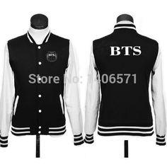 Hot NEW kpop Kroea music group BTS Bangtan Boys logo coat JACKET baseball uniform hoodie-in Hoodies & Sweatshirts from Apparel & Accessories on Aliexpress.com | Alibaba Group