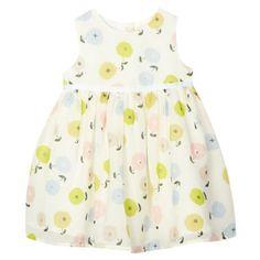 J by Jasper Conran Designer babies pale yellow floral chiffon dress- at Debenhams.com
