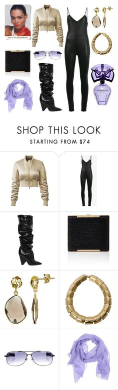 """Untitled #2549"" by moestesoh ❤ liked on Polyvore featuring Clairol, SPRWMN, Yves Saint Laurent, Robert Lee Morris, Chrome Hearts, Church's and BCBGMAXAZRIA"