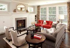 Tailored Living Room Design