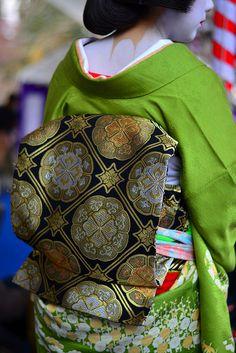 Geiko's kimono