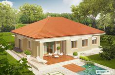 Projekty domów ARCHIPELAG - Eris G2 (wersja B)