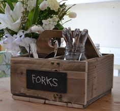 Ana White | Build a Reclaimed Soda Crate Caddy | Free and Easy DIY Project and…