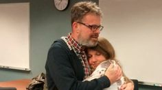 Kevin Garratt is reunited with his wife Julia Garratt in Vancouver China releases Canadian in spy case after two years