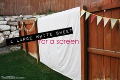 Backyard Movie Night: DIY Party | Movie Night Ideas