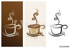 Tableware, Illustration, Kaffee, Dinnerware, Tablewares, Illustrations, Dishes, Place Settings