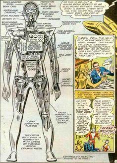 Doom Patrol Robotman   The Dork Review: Doom Patrol's Robotman's Schematics