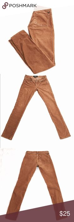 Lucky Brand Tan Corduroy Skinny Jeans Size 26 Lucky Brand Tan Corduroy Skinny Jeans Low Rise Size 26  Inseam: 31in  Waist flat across: 14in  Length: 39in  Rise: 8in  All items are in EXCELLENT USED CONDITION.  I strive to provide quality items and excellent customer service. Feel free to contact me with any questions! New items added daily so follow me to keep up with the great deals!  Thank you!  ITEM A58 Lucky Brand Jeans Skinny
