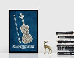 BBC Sherlock Inspired Quote Poster  11 x 17 by OutNerdMe on Etsy, $18.00
