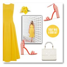 """""""Yellow"""" by bliznec ❤ liked on Polyvore featuring Warehouse"""
