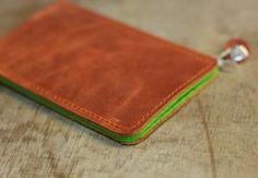 Leather Sleeve for Sony Xperia Z3 | Xperia Z3 Compact - PAPAYA