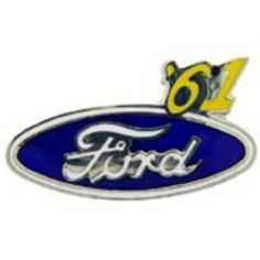 """Ford '61 Logo Pin 1"""" by FindingKing. $8.99. This is a new Ford '61 Logo Pin 1"""""""