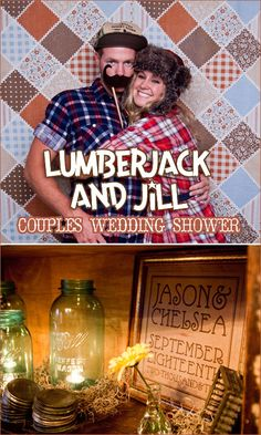 LumberJack and Jill Party - such a cute theme! I would love to adapt this for a casual fall get-together!