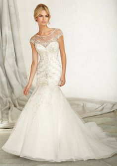 wedding gown / Angelina Faccenda