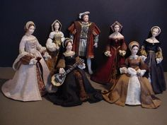 KING HENRY VIII AND HIS SIX WIVES | by Debbie DP